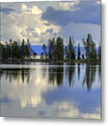 Pelican Bay Morning Metal Print
