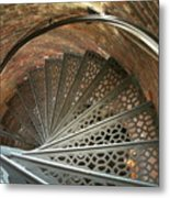 Pemaquid Spiral Metal Print by Theresa Willingham