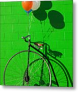 Penny Farthing Bike Metal Print by Garry Gay