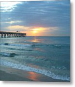 Perfect Peace At 6 A.m. Metal Print