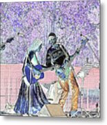 Performers On Stage Metal Print
