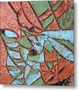 Perusal Tile Metal Print