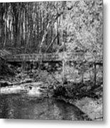 Petrifying Springs Park Bridge  Metal Print