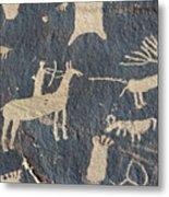 Petroglyphs, Utah Metal Print