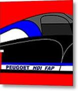 Peugeot 908 Hdi Sat - No. 8 Metal Print