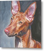 Pharaoh Hound Metal Print by Lee Ann Shepard