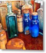 Pharmacist - Medicine Cabinet  Metal Print by Mike Savad