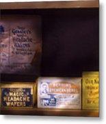 Pharmacy - Medicine - Blood Purifiers  Metal Print