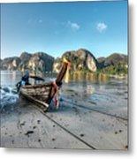 Phi Phi Island Metal Print