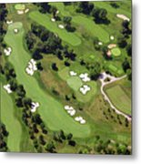 Philadelphia Cricket Club Militia Hill Golf Course 6th Hole 2 Metal Print by Duncan Pearson