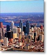 Philadelphia Skyline 2005 Metal Print by Duncan Pearson