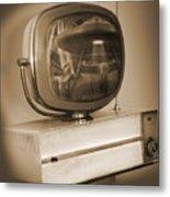 Philco Television  Metal Print