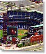 Phillies Citizens Bank Park Philadelphia Metal Print