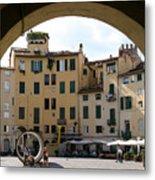 Piazza Antifeatro Lucca Metal Print