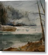 Picketts Dam Metal Print by Don Cull