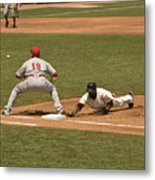 Pickoff Move To 1st Base Metal Print