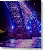 Piece Bridge Metal Print