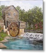 Pigeon Forge Mill Metal Print