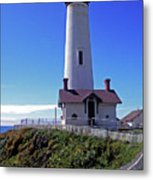 Pigeon Point Lighthouse 3 Metal Print