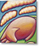 Pigs Peace Metal Print