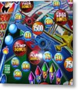 Pinball Wizard-the Signs Of The Times Collection Metal Print