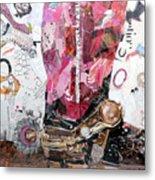 Pink Boot 2 Metal Print