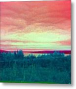 Pink Clouds Metal Print