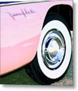Pink Desoto Fireflite Metal Print