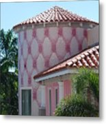 Pink Tower Metal Print