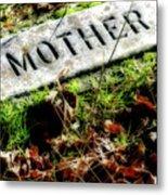 Pioneer Grave Metal Print