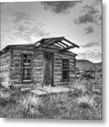 Pioneer Home - Nevada City Ghost Town Metal Print