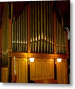 Pipe Organ Metal Print