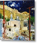 Pissouri Village Metal Print