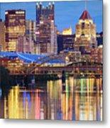 Pittsburgh 2 Metal Print by Emmanuel Panagiotakis