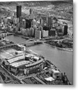 Pittsburgh 9 Metal Print by Emmanuel Panagiotakis