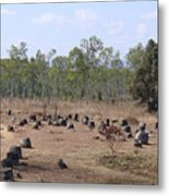 Plain Of Jars No.2 Metal Print