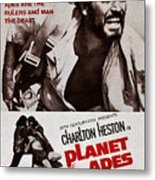 Planet Of The Apes, Top Charlton Metal Print by Everett