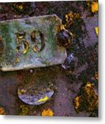 Plate 59 Metal Print