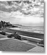 Playa Burriana, Nerja Metal Print by John Edwards
