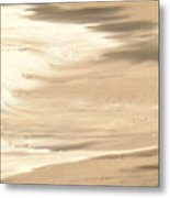 Playing On A Beach Metal Print