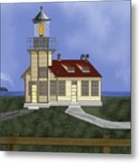 Point Cabrillo California Metal Print