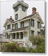 Point Fermin Lighthouse Metal Print