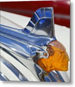 Pontiac Hood Ornament Metal Print