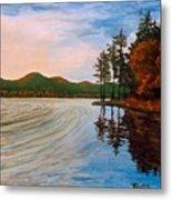 Pontoosuc Lake Pittsfield Ma Metal Print