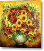 Poppies. Metal Print