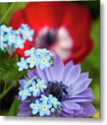 Poppy And Friends Metal Print