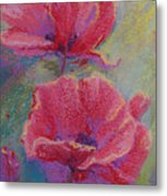 Poppy Duo Metal Print