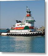Popular Sight At Port Canaveral On Florida Metal Print