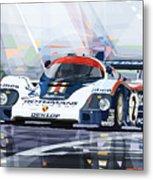 Porsche 956 Rothmans 1982 1000km Francorchamps Derek Bell Metal Print