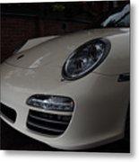 Porsche On Canyon Road Metal Print